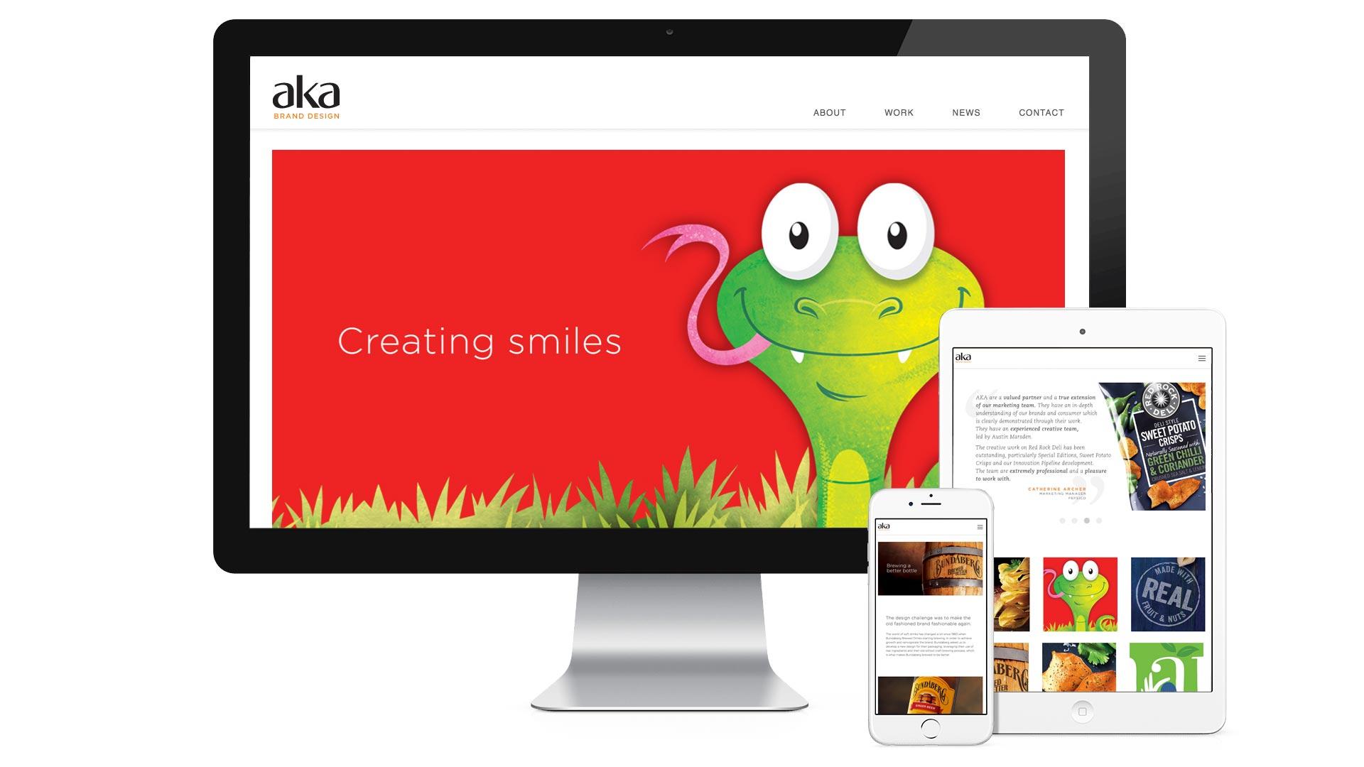 AKA Brand Design Responsive Design