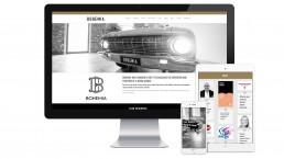 Bohemia devices web design